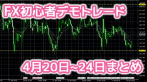 【トレード成績】4月20日~24日